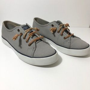 Sperry shoes Canvas Slip on Sneakers size 7 1/2 M